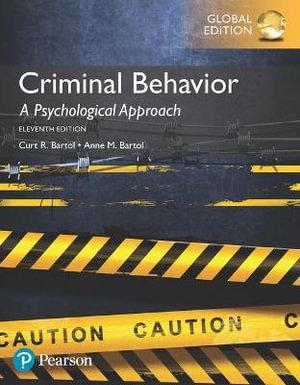 Cover of Criminal Behavior