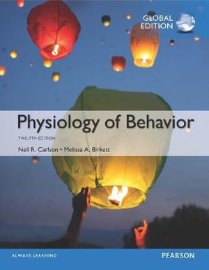 Cover of Physiology of Behavior, Global Edition
