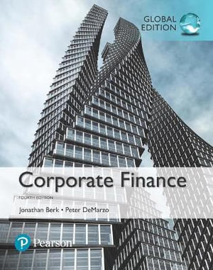 Cover of Corporate Finance, Global Edition