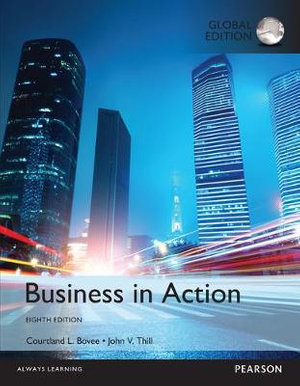 Cover of Business in Action, Global Edition