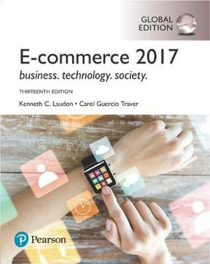 Cover of E-Commerce 2017, Global Edition