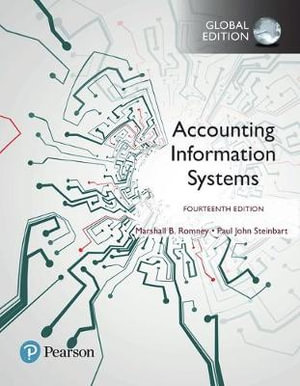 Cover of Accounting Information Systems, Global Edition