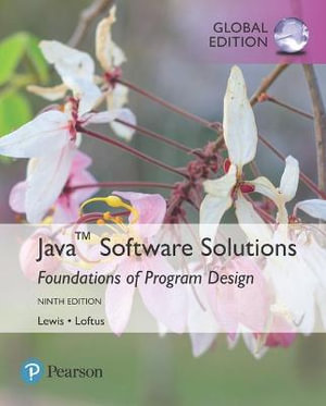 Cover of Java Software Solutions, Global Edition
