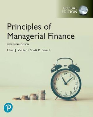 Cover of Principles of Managerial Finance, Global Edition