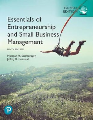 Cover of Essentials of Entrepreneurship and Small Business Management, Global Edition