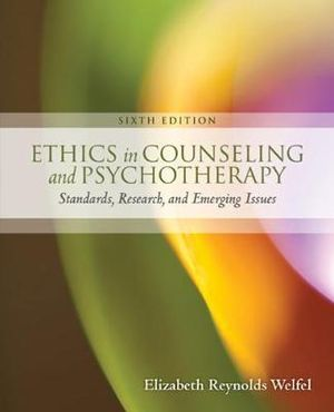 Cover of Ethics in Counseling & Psychotherapy