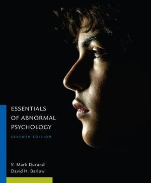 Cover of Essentials of Abnormal Psychology