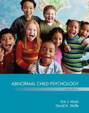 Cover of Abnormal Child Psychology