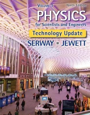 Cover of Physics for Scientists and Engineers, Volume 1, Technology Update