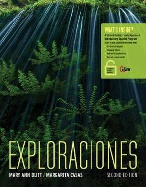 Cover of Exploraciones (with Ilrn Heinle Learning Center Printed Access Card)