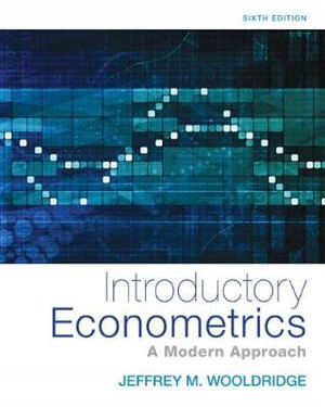 Cover of Introductory Econometrics: A Modern Approach