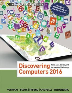 Cover of Discovering Computers ©2016