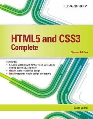Cover of HTML5 and CSS3, Illustrated Complete