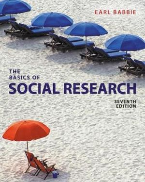 Cover of The Basics of Social Research