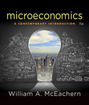 Cover of Microeconomics: A Contemporary Introduction