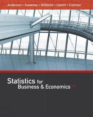 Cover of Statistics for Business & Economics