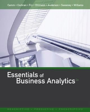 Cover of Essentials of Business Analytics