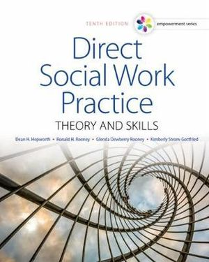 Cover of Empowerment Series: Direct Social Work Practice: Theory and Skills