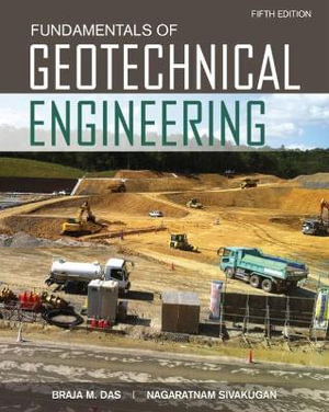 Cover of Fundamentals of Geotechnical Engineering