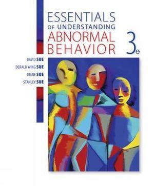Cover of Essentials of Understanding Abnormal Behavior