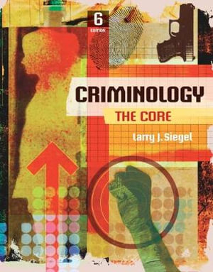 Cover of Criminology: The Core