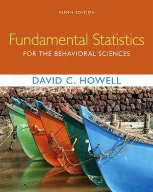 Cover of Fundamental Statistics for the Behavioral Sciences