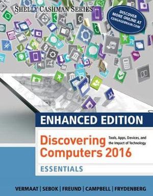 Cover of Enhanced Discovering Computers ©2017, Essentials