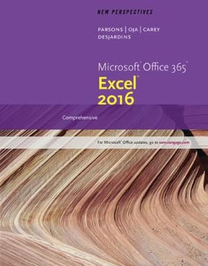 Cover of New Perspectives Microsoft Office 365 & Excel 2016: Comprehensive