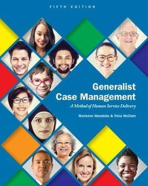 Cover of Generalist Case Management: A Method of Human Service Delivery