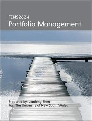 Cover of CUST Portfolio Management