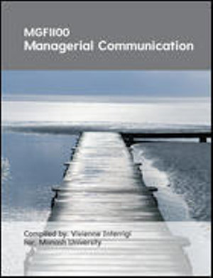 Cover of CUST Managerial Communication
