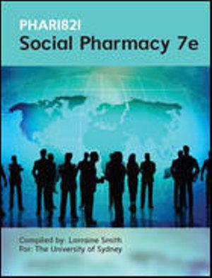 Cover of PHAR 1821 Social Pharmacy