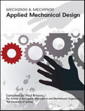 Cover of CUST Applied Mechanical Design