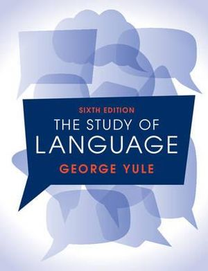 Cover of The Study of Language