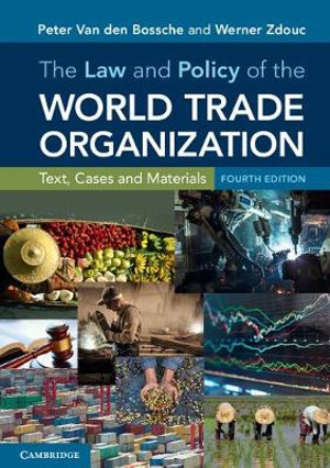 Cover of The Law and Policy of the World Trade Organization