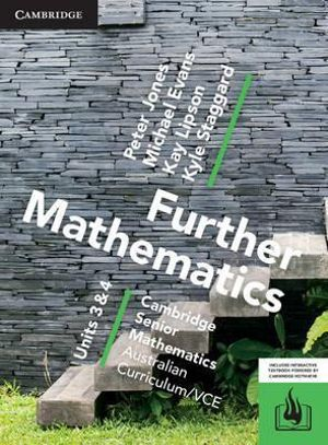 Cover of Csm Vce Further Mathematics Units 3 and 4