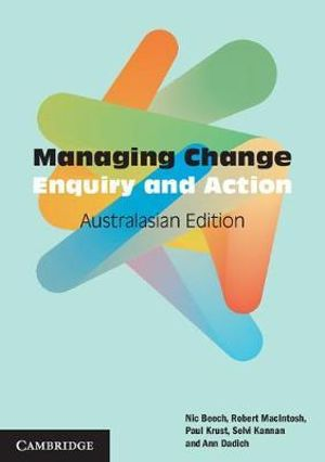Cover of Managing Change Australasian Edition