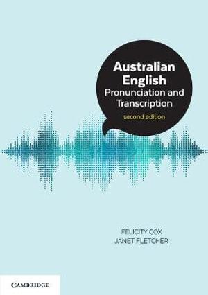 Cover of Australian English Pronunciation and Transcription