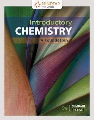 Cover of Introductory Chemistry: A Foundation