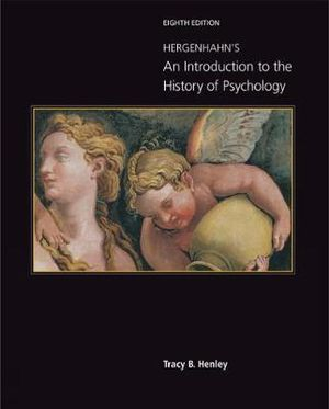 Cover of Hergenhahn's An Introduction to the History of Psychology