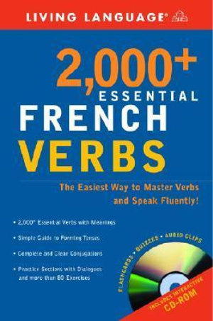Cover of 2000 Plus Essential French Verbs