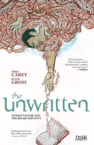 Cover of The Unwritten 01