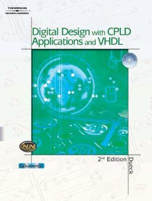Cover of Digital Design with CPLD Applications and VHDL