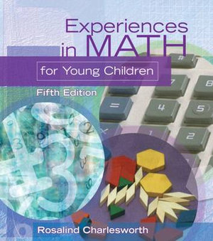 Cover of Experiences in Math for Young Children