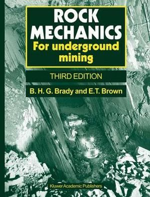 Cover of Rock Mechanics
