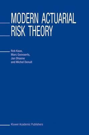 Cover of Modern Actuarial Risk Theory