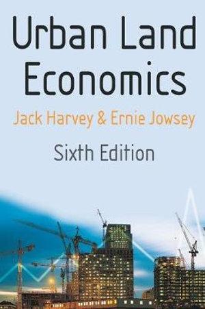 Cover of Urban Land Economics