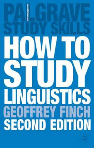 Cover of How To Study Linguistics, Second Edition