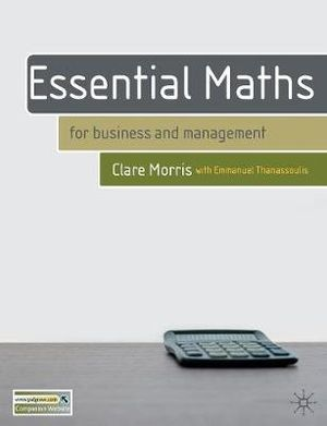 Cover of Essential Maths