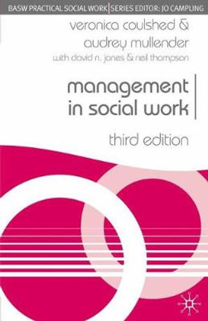 Cover of Management in Social Work, Third Edition